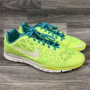 Nike Yellow Green Sneakers